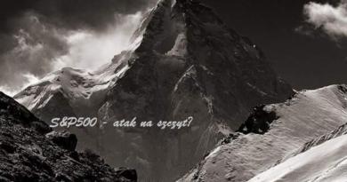 Hossa trwa w najlepsze, S&P500 kierunek 5000 pkt ?